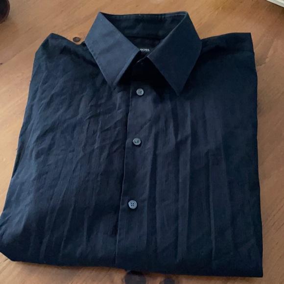 Hugo Boss black dress shit
